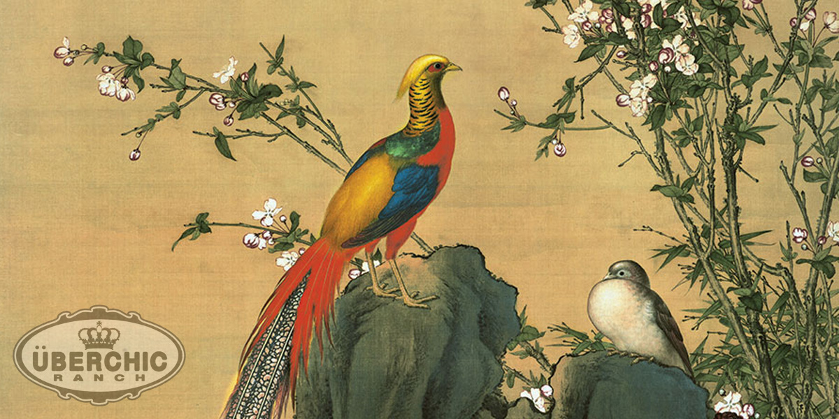 Golden Pheasant in Chinese Art